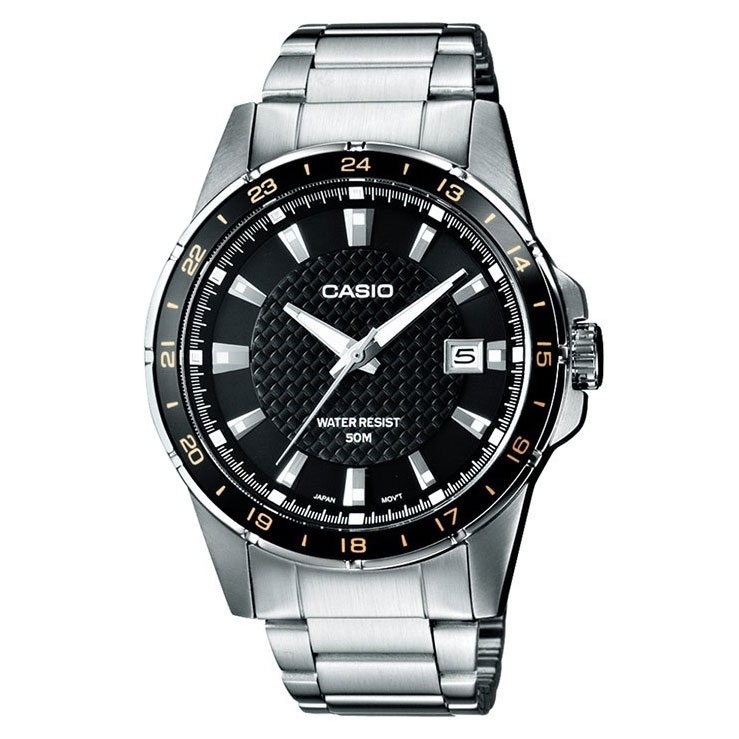 CASIO Collection Stainless Steel Bracelet MTP-1290D-1A2VEF