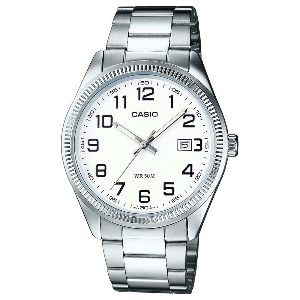 CASIO Collection Stainless Steel Bracelet White Dial MTP-1302PD-7BVEF