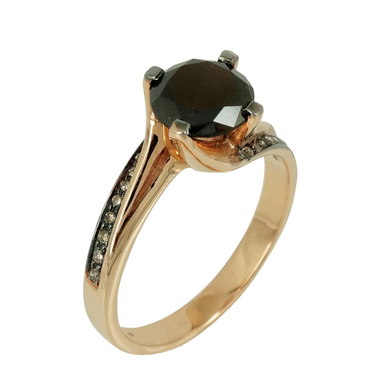 Μονόπετρο Δαχτυλίδι Κ18 με Διαμάντια Brilliant D34883