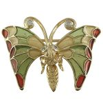 Χρυσή Καρφίτσα Πεταλούδα