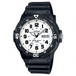 CASIO Collection Black Rubber Strap MRW-200H-7BVEF