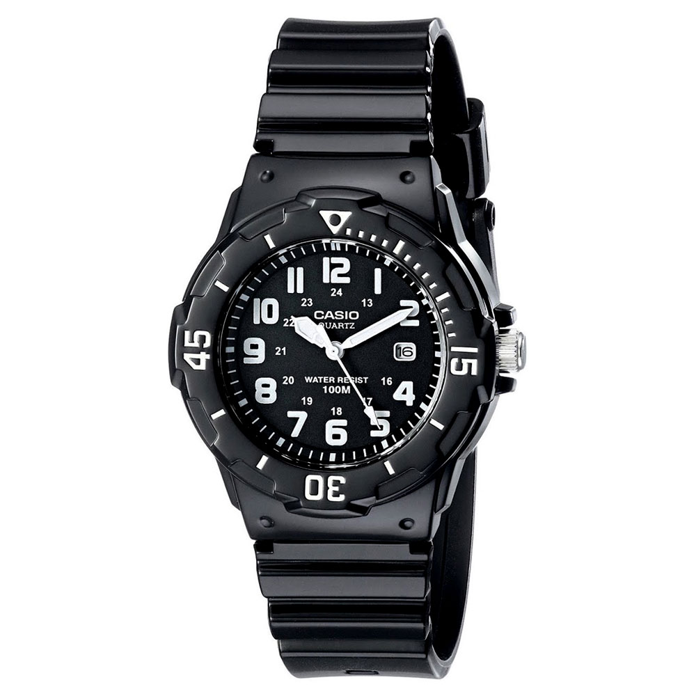 CASIO Collection Rubber Strap LRW-200H-1BV