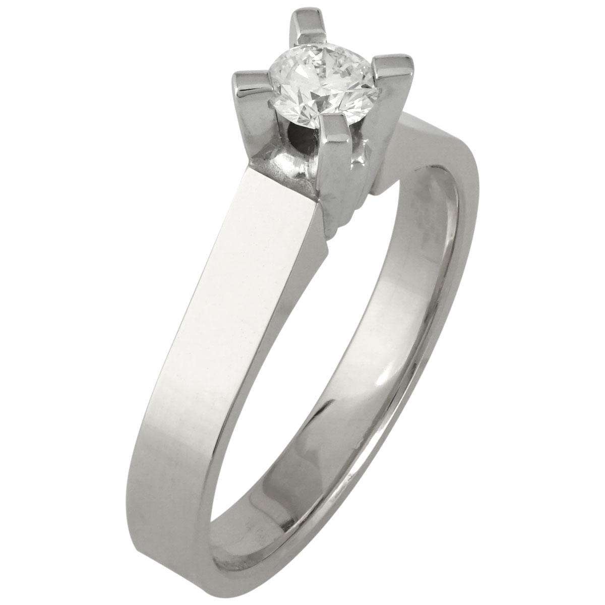 Μονόπετρο Δαχτυλίδι Κ18 με Διαμάντι Brilliant R16053