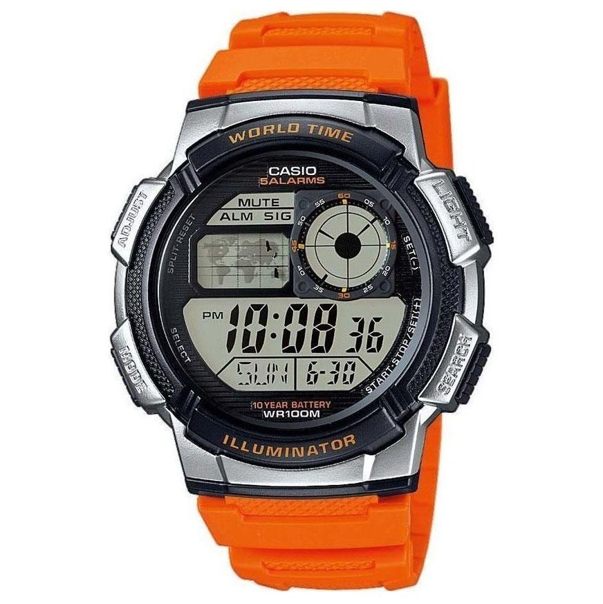 CASIO Sport Orange Rubber AE-1000W-4BVEF