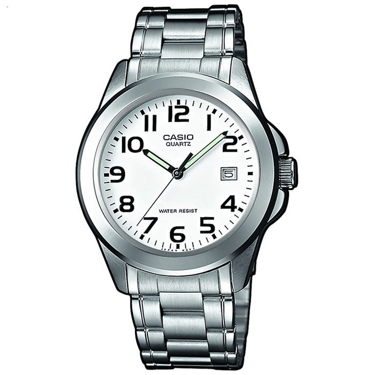 CASIO Collection Stainless Steel Bracelet MTP-1259PD-7BEF