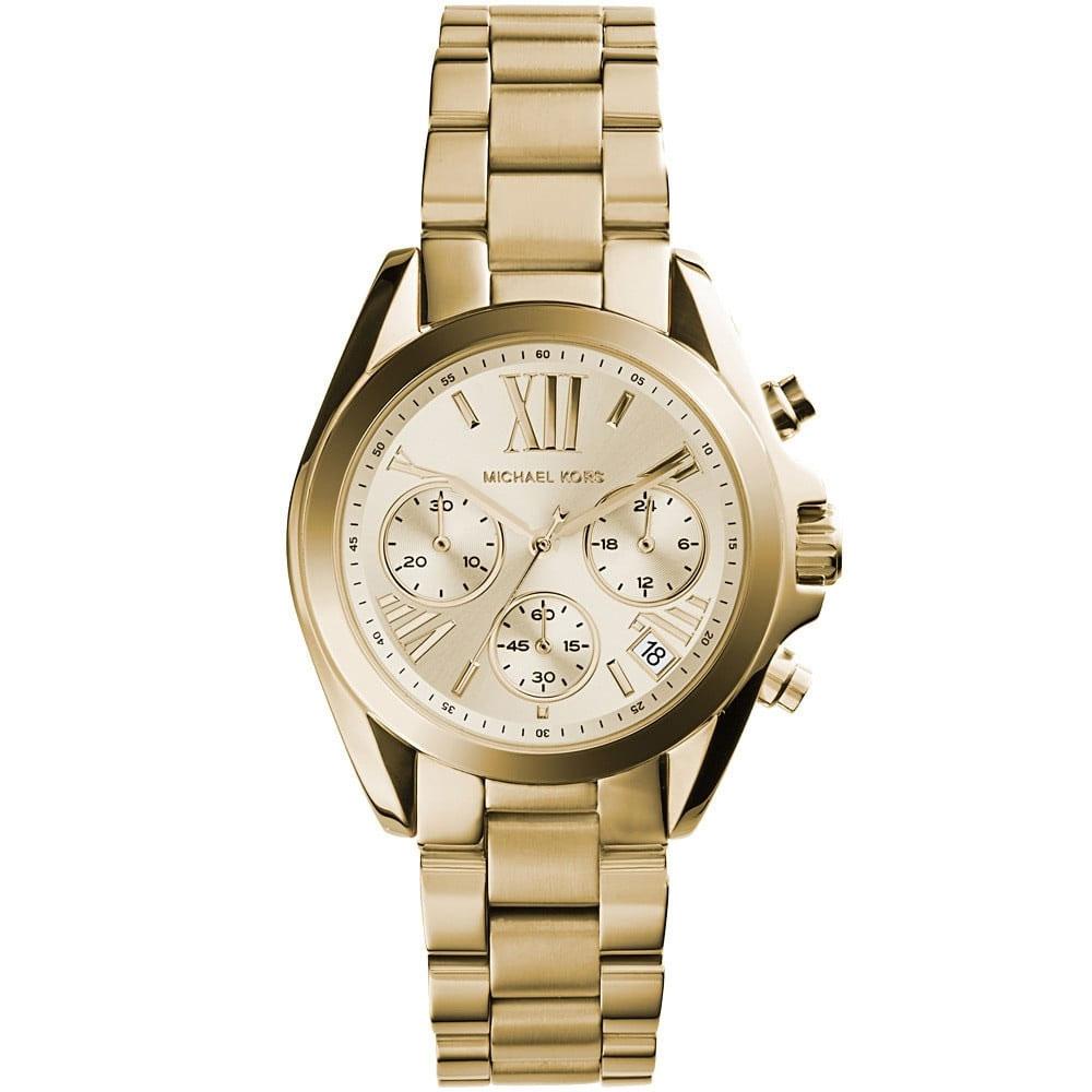 MICHAEL KORS Bradshaw Medium Chronograph Gold Stainlees Steel Bracelet  MK5798 e97401ad529