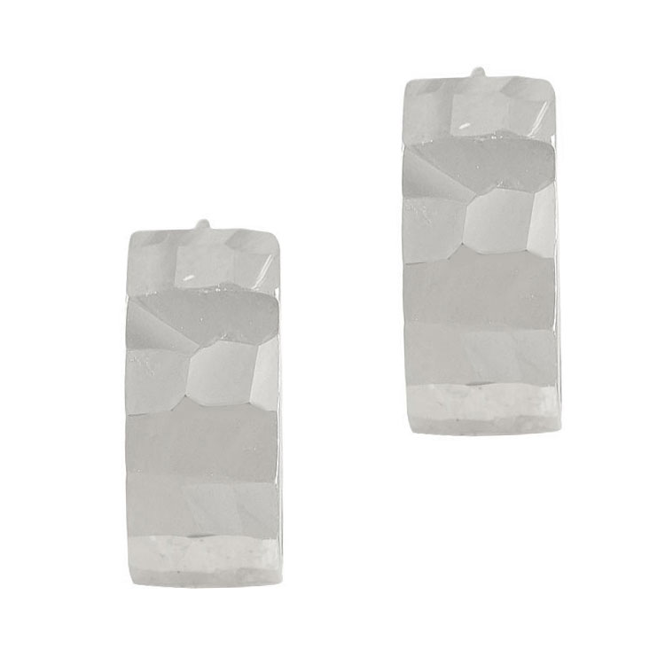 Λευκόχρυσα Σκουλαρίκια Κρικάκια Κ14 SK87004
