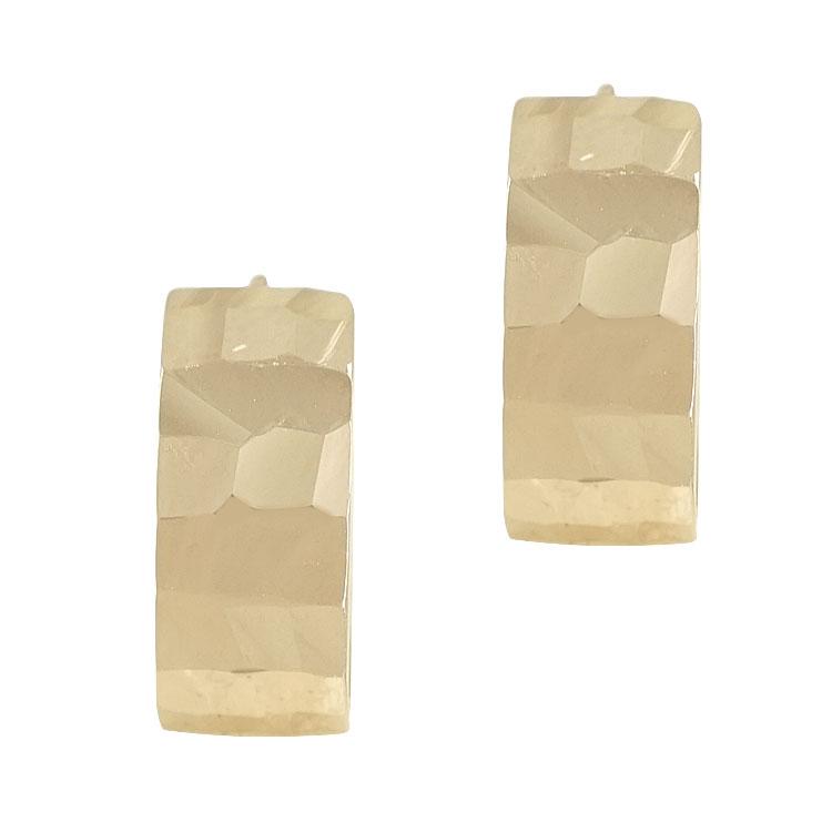 Ροζ Χρυσά Σκουλαρίκια Κρικάκια Κ14 SK86995