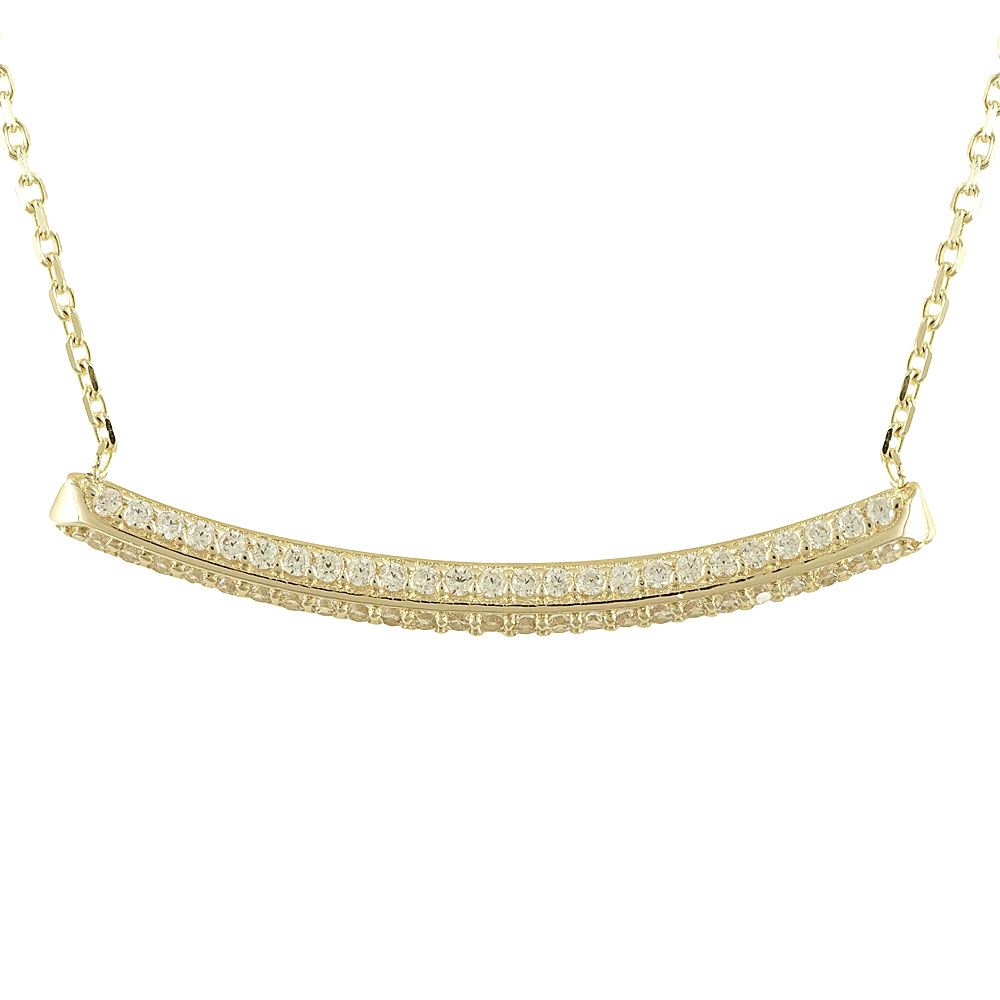 Κίτρινο Χρυσό Κολιέ Βέργα Κ14 KL78475