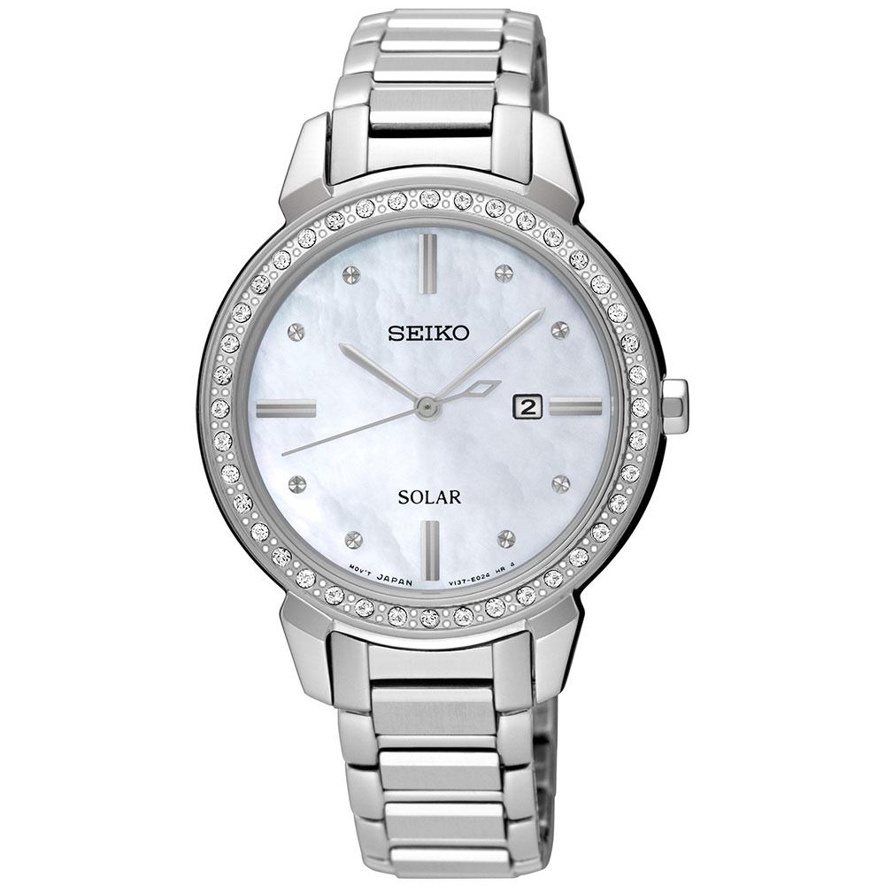 Γυναικείο Ρολόι Seiko Solar SUT327P1