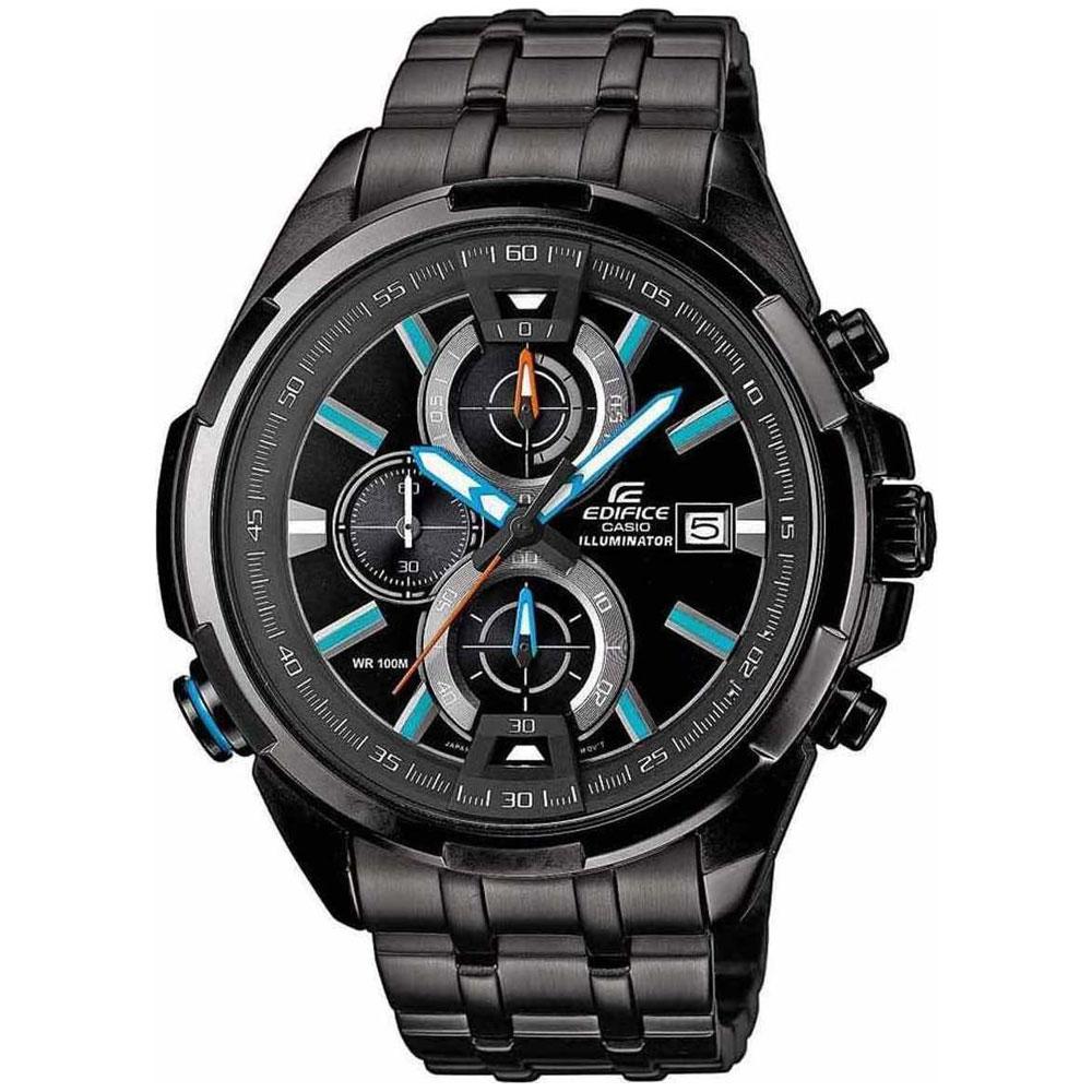 Αντρικό Ρολόι CASIO Edifice Black Bracelete EFR-536BK-1A2VEF