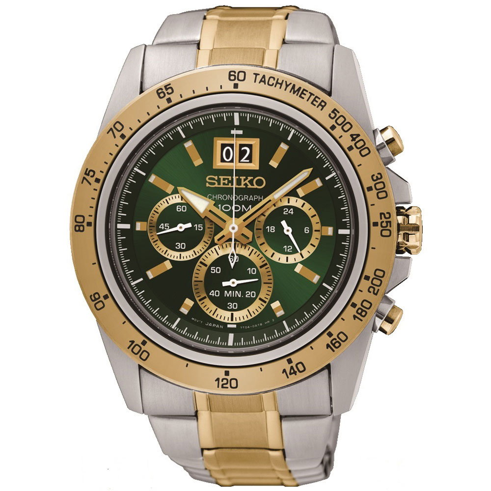 SEIKO Lord Chronograph Two Tone Gold Stainless Steel Bracelet SPC230P1.  Product ID SPC230P1. -12%. Αντρικό Ρολόι Seiko SPC230P1 920e95f7c91