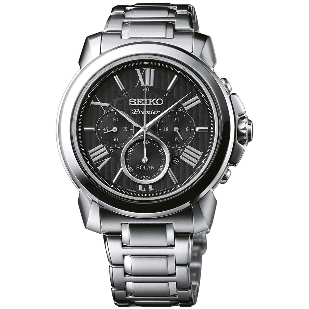 Αντρικό Ρολόι Seiko Solar SSC597P1 8ac13154d34