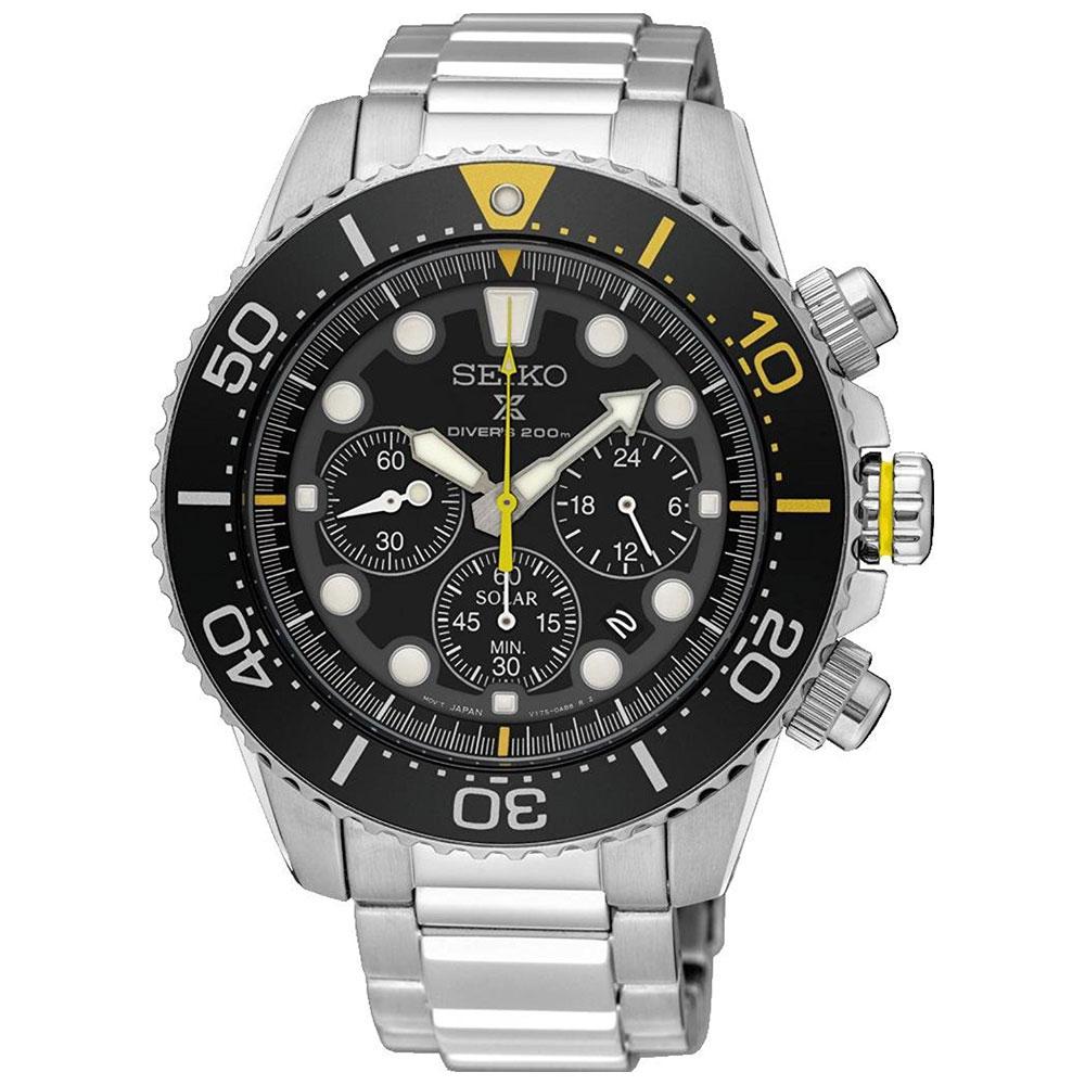 Αντρικό Ρολόι Seiko Solar Prospex Diver SSC613P1