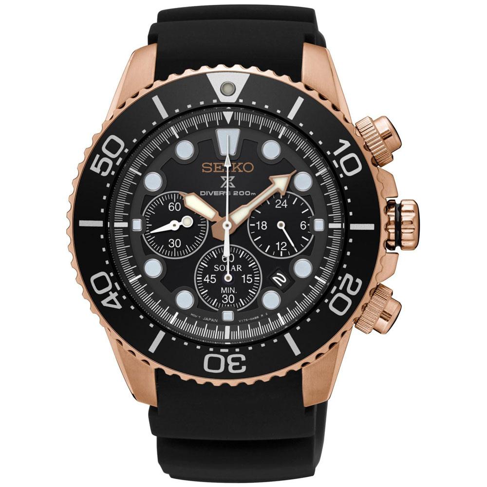 Αντρικό Ρολόι Seiko Solar Prospex Diver SSC618P1