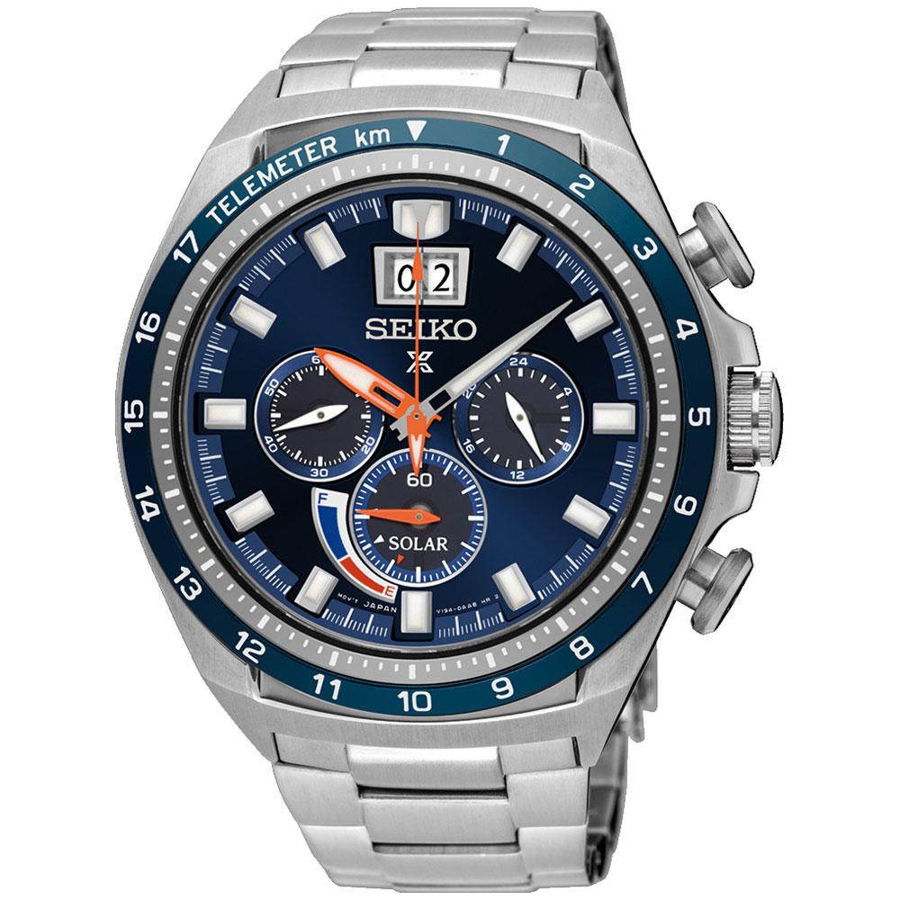 Αντρικό Ρολόι Seiko Solar Prospex SSC601P1