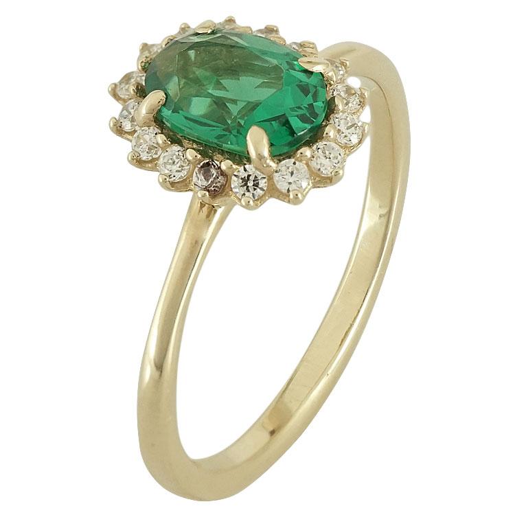 Κίτρινο Χρυσό Δαχτυλίδι Ροζέτα Κ14 DX64599