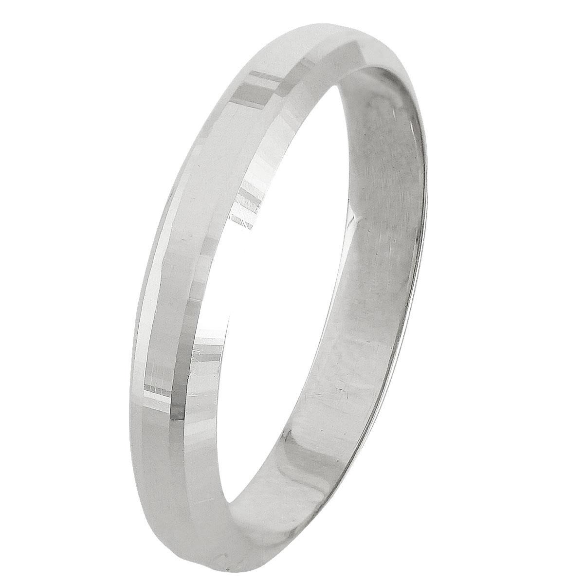 Λευκόχρυση Βέρα Γάμου WR245W