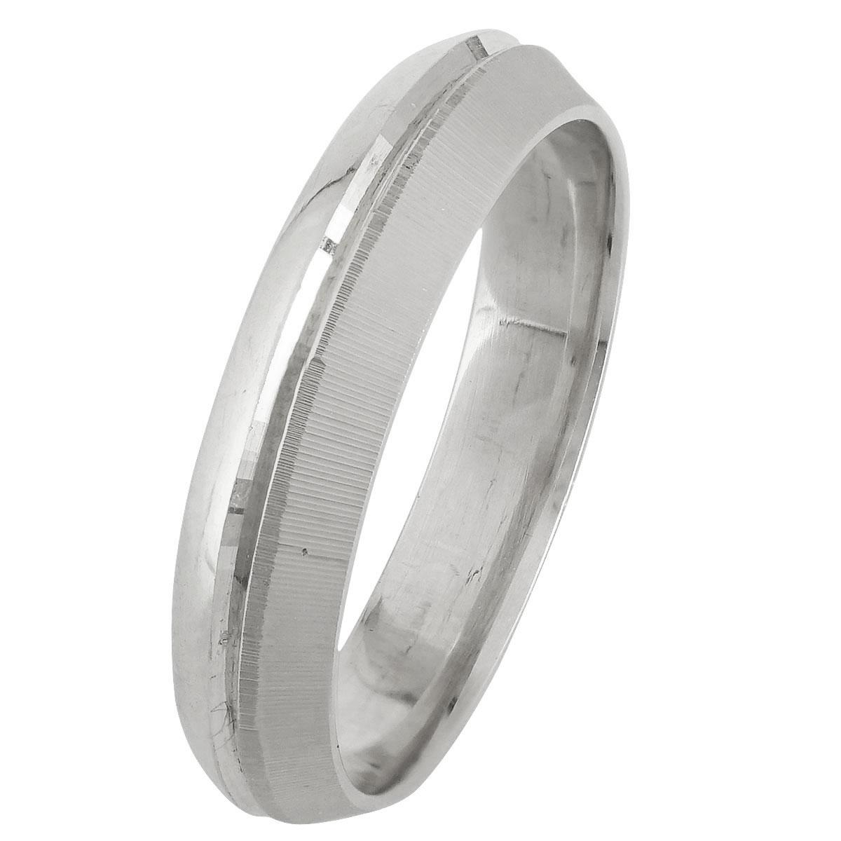 Λευκόχρυση Βέρα Γάμου WR246W