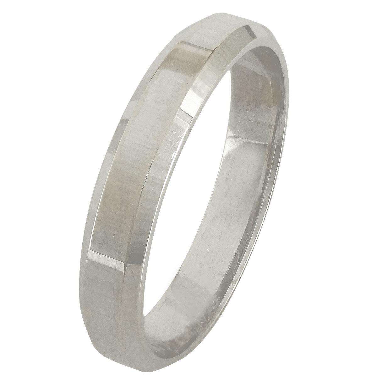 Λευκόχρυση Βέρα Γάμου WR248W