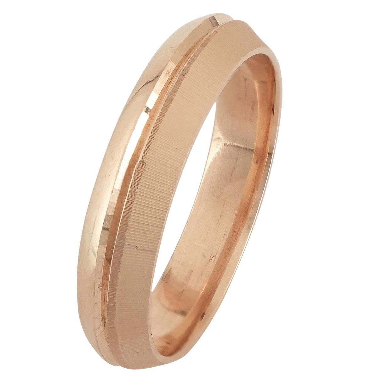 Ροζ Χρυσή Βέρα Γάμου WR246R