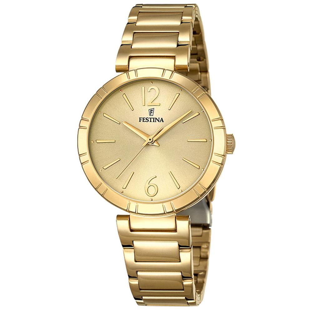 FESTINA Gold Stainless Steel Bracelet F16938-1