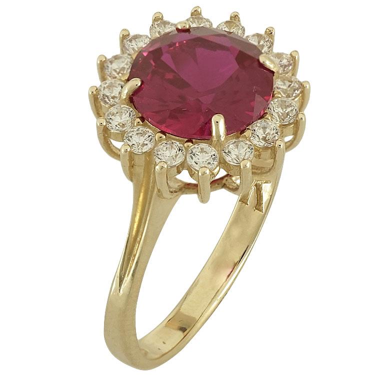 Κίτρινο Χρυσό Δαχτυλίδι Ροζέτα Κ14 DX78009  b7722ab1a4e