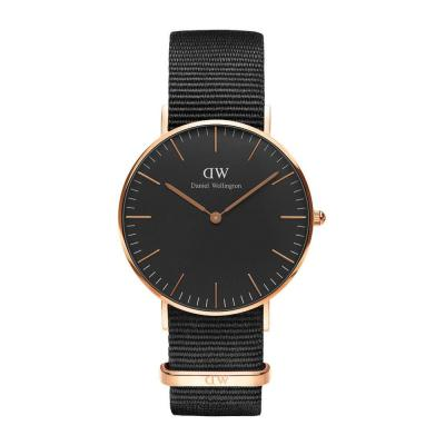 DANIEL WELLINGTON Classic Black Cornwall Rose Gold DW00100150