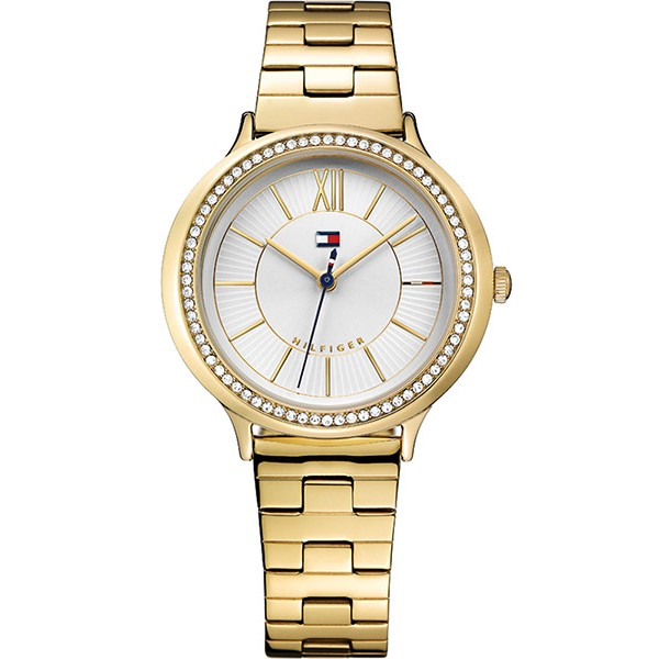 Tommy HILFIGER Candice Crystals Gold Stainless Steel Bracelet 1781856