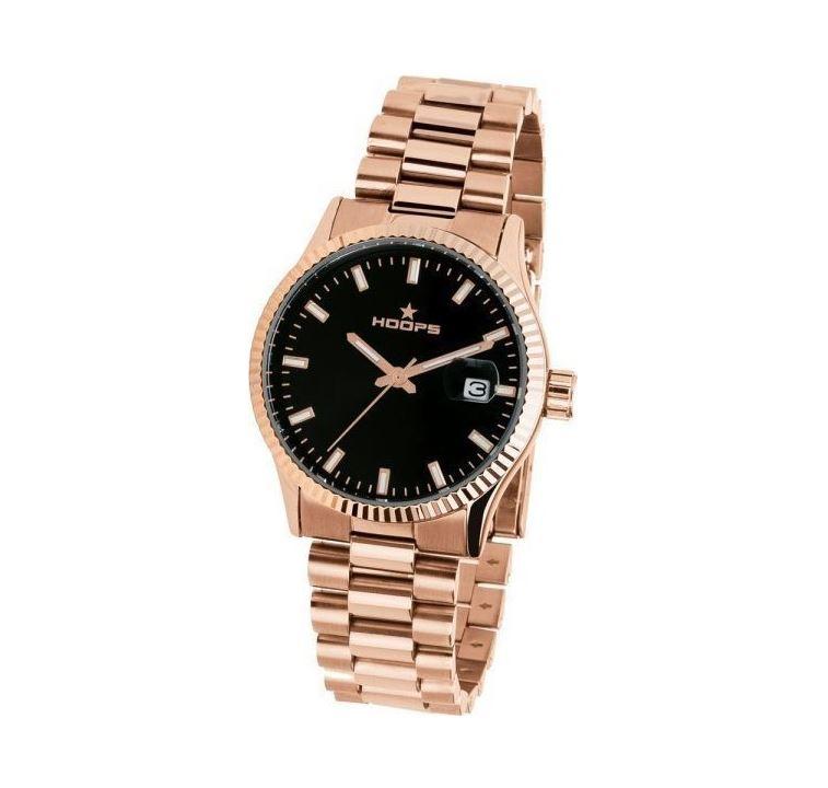 HOOPS Luxury L Rose Gold Black 2590LG01