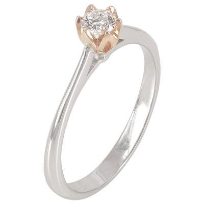 Μονόπετρο Δαχτυλίδι Κ18 Με Διαμάντι DDX215