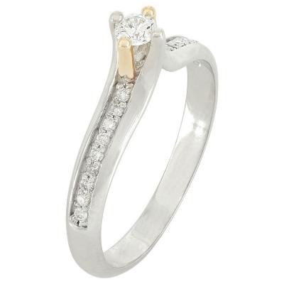 Μονόπετρο Δαχτυλίδι Κ18 Με Διαμάντι DDX212