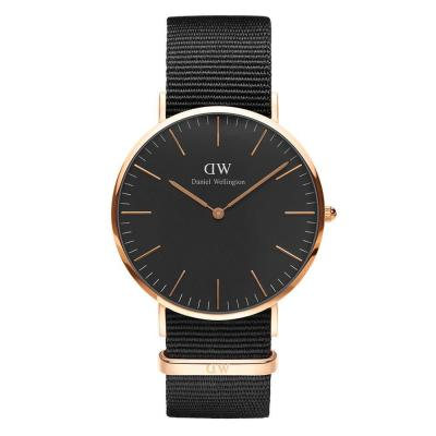 DANIEL WELLINGTON Cornwall Classic Black And Rose DW00100148