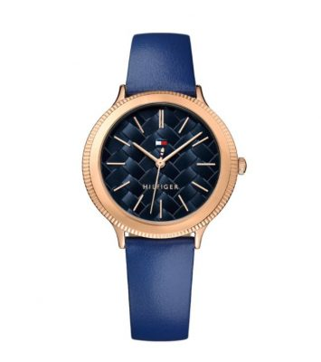 Tommy HILFIGER Candice Blue Leather Strap 1781860
