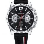 Tommy HILFIGER Decker Black Stainless Steel Strap 1791473