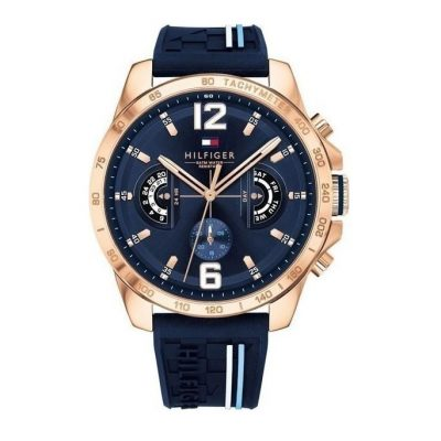 Tommy HILFINGER Decker Rose Gold Stainless Steel Strap 1791474