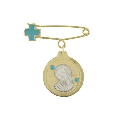 Δίχρωμη Χρυσή Παραμάνα με τον Χριστούλη K9 PA411