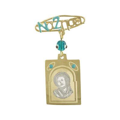 Δίχρωμη Χρυσή Παραμάνα με τον Χριστούλη K9 PA412