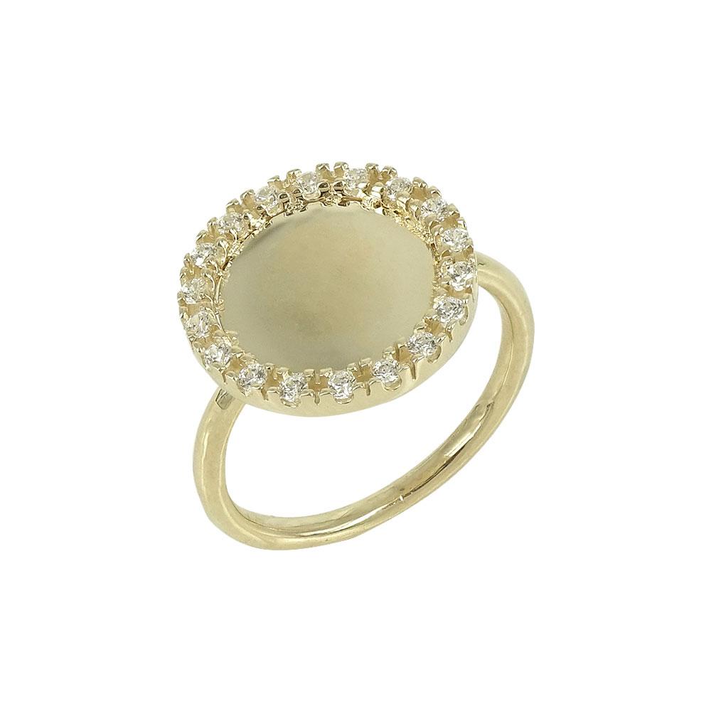 Κίτρινο Χρυσό Δαχτυλίδι Κ9 DX628
