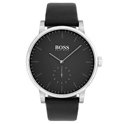 Hugo Boss Essence Black Leather Strap 1513500