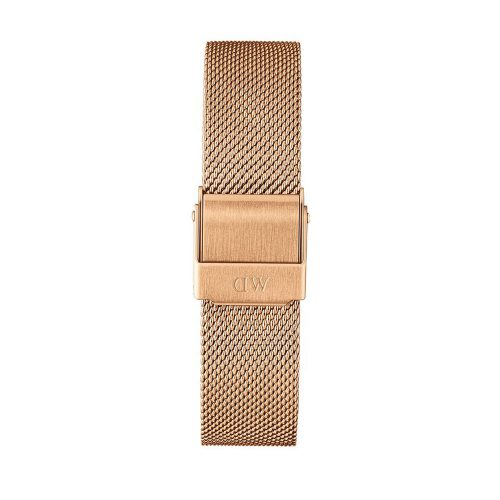DANIEL WELLINGTON Classic Petite Melrose Rose Gold Metallic Bracelet 14mm DW00200139