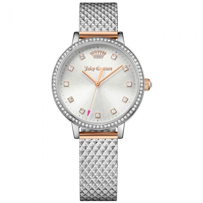 JUICY COUTURE Crystal Silver Stainless Steel Bracelet 1901612