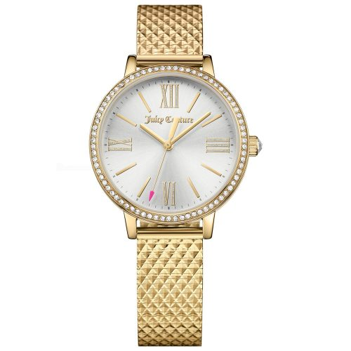 JUICY COUTURE Crystal Gold Stainless Steel Bracelet 1901613