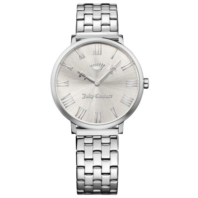 JUICY COUTURE LA Ultra Slim Silver Stainless Steel 1901632