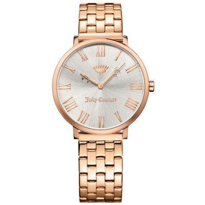 JUICY COUTURE LA Ultra Slim Rose Gold Stainless Steel Bracelet 1901634