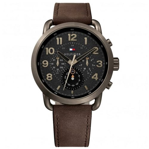 TOMMY HILFIGER Briggs Brown Leather Strap 1791425