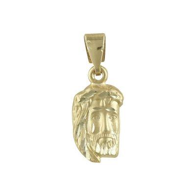 Kίτρινο Χρυσό Φυλαχτό με τον Χριστούλη Κ9 ΡΑ449