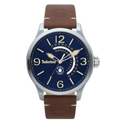 TIMBERLAND Hollace Multifunction Brown Leather Strap 15419JS-03