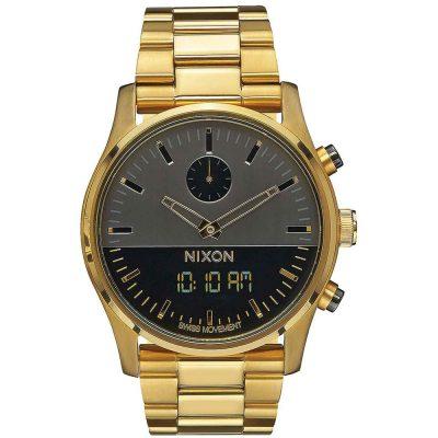 NIXON Duo Anadigi Gold Stainless Steel Bracelet A932-595
