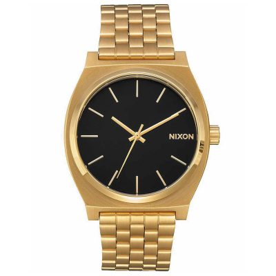 NIXON Time Teller Gold Stainless Steel Bracelet A045-2042